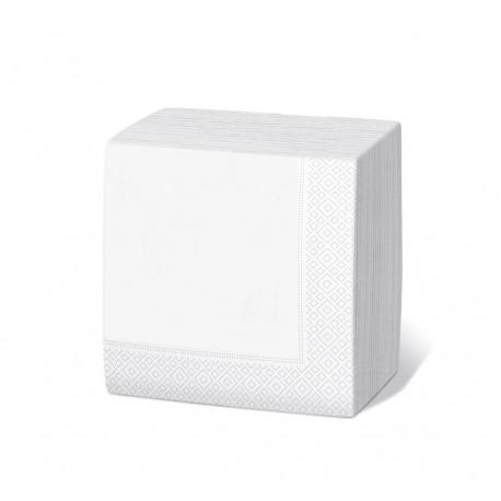 Servilleta 20x20 2c blanca c.6000