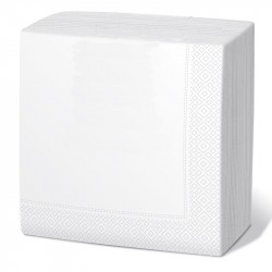 Servilleta 40x40 2c blanca c.2400