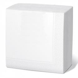 Servilleta 40x40 3c blanca c.1800