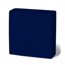 Servilleta 33x33 2c pta-pta azul c.1500