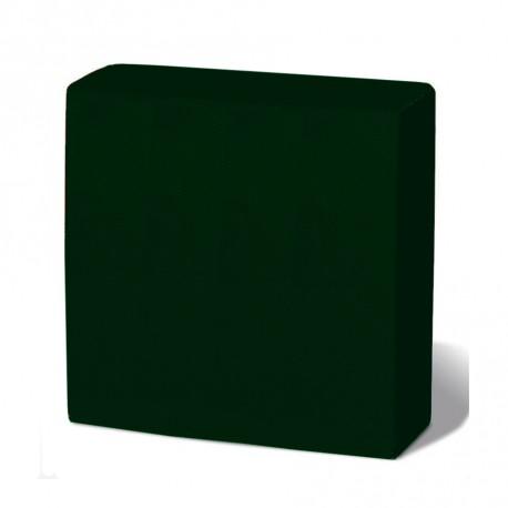 Servilleta 33x33 2c pta-pta verde c.1500