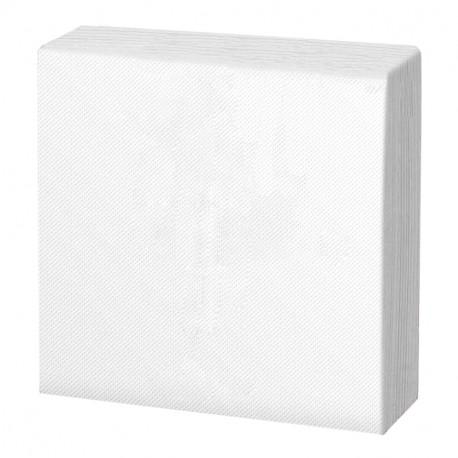 Servilleta 40x40 pta-pta blanca c.1800
