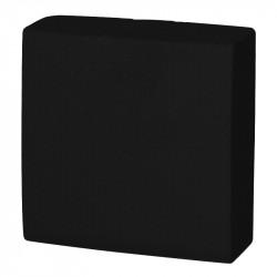 Servilleta 40x40 pta-pta negra c.1800