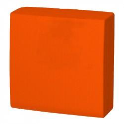 Servilleta 40x40 pta-pta naranja c.1800