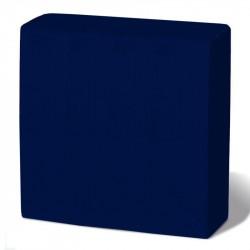 Servilleta 40x40 pta-pta azul c.1800