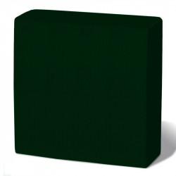 Servilleta 40x40 pta-pta verde c.1800