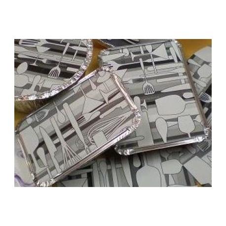 Tapa cartró ovalada plastif. S2600 p.100