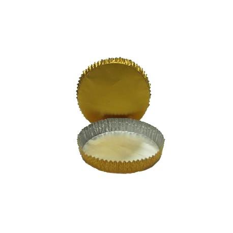 Petit four oro redondo n.8 c.1800