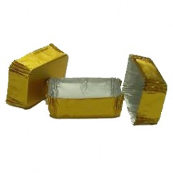 Petit four oro rectangular n.3 c.2000