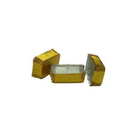 Petit four oro rectangular n.3 c.2000