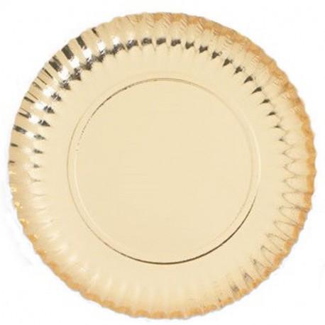 Plat cartró laminat or 25cm p.100