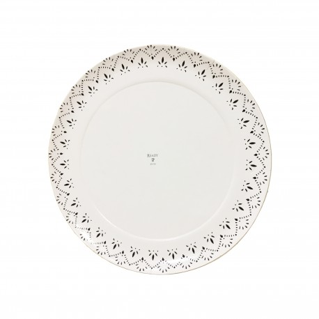Plat cartró laminat blanc Ready 22cm p.100