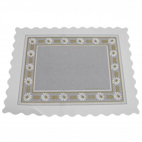 Blonda parafinada blanca 16x42 p.100