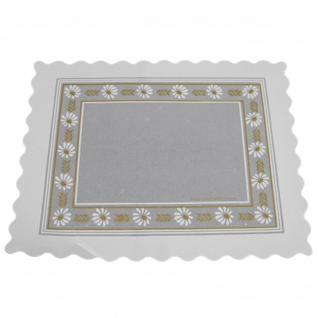 Blonda parafinada blanca 45x55 p.100