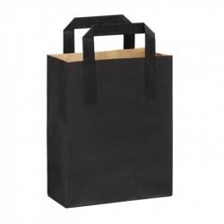 Bossa n/plana 20+10x28cm negra c.250