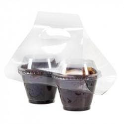 Bolsa SweetCup Crystal para 2 vasos 180ml c.1000