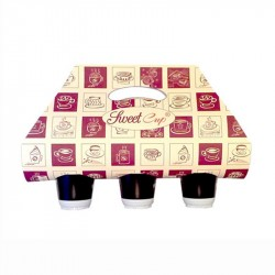 Bolsa SweetCup Cof.T para 3 vasos 400-500ml c.1000