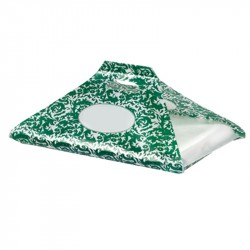 Bolsa SweetBag Damascato verde Mod. G750 c.1000