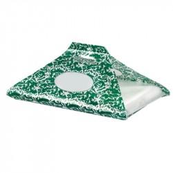 Bolsa SweetBag Damascato verde Mod. KS1 c.1000
