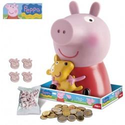 Hucha Peppa Pig con piruletas 28grs. p.6
