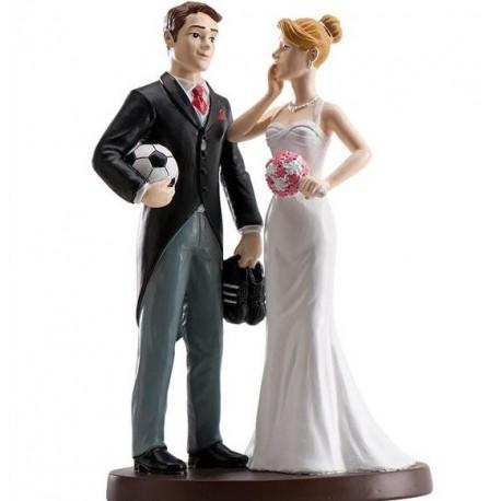 Parella casament Futbol 18cm p.2