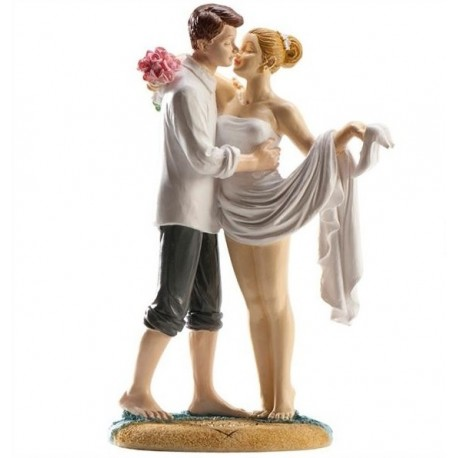 Pareja boda Playa 16cm p.2