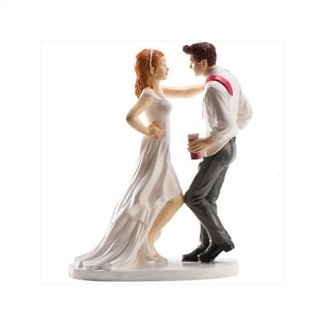 Pareja boda Fiesta y Baile 16cm p.2