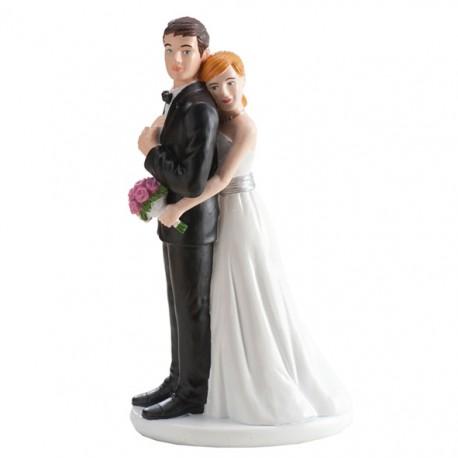 Parella casament noia Abraçant 16cm p.2