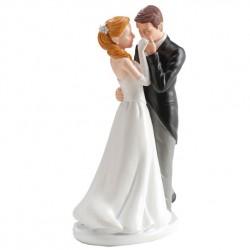 Pareja boda Beso Mano 16cm p.2
