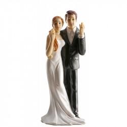 Pareja boda Anillos 16cm p.2