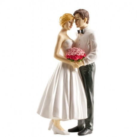 Pareja boda Ramo 16cm p.2