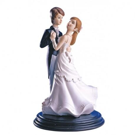 Pareja boda Bailando 2 18cm p.2