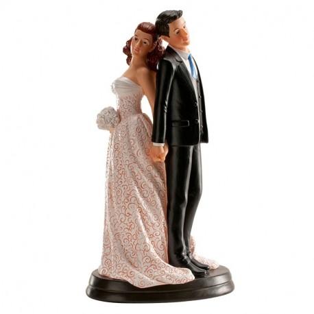 Pareja boda Espaldas 20cm. p.2