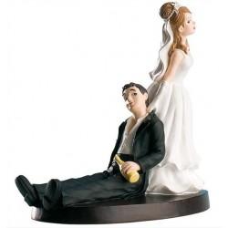 Pareja boda Bebidos 14cm p.2