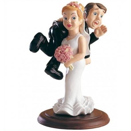 Pareja boda novio a Hombros 15cm p.2