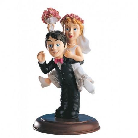 Pareja boda novia Caballito 16cm p.2