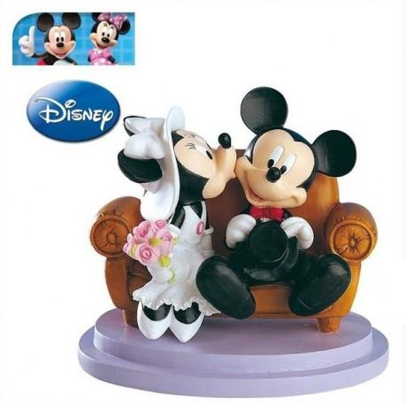 Pareja boda Mickey&Minnie Sofá 15cm p.2