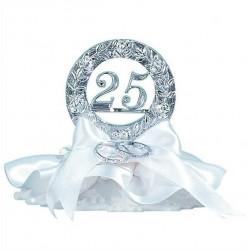25 Aniversario con alianzas 10cm p.6