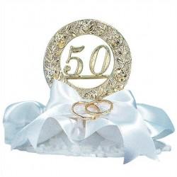 50 Aniversario con alianzas 10cm p.6