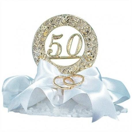 50 Aniversari amb aliances 10cm p.6