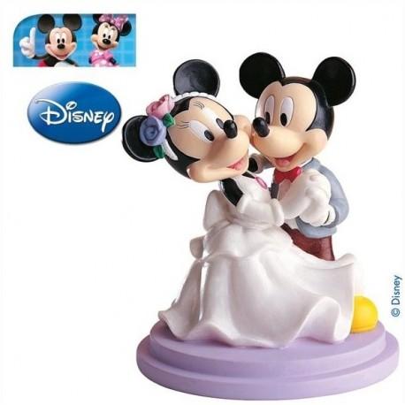 Pareja boda Mickey&Minnie Bailando 15,5cm p.2