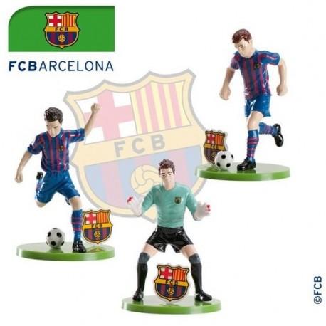 Set Pvc Fútbol F.C.Barcelona 7,5cm p.12
