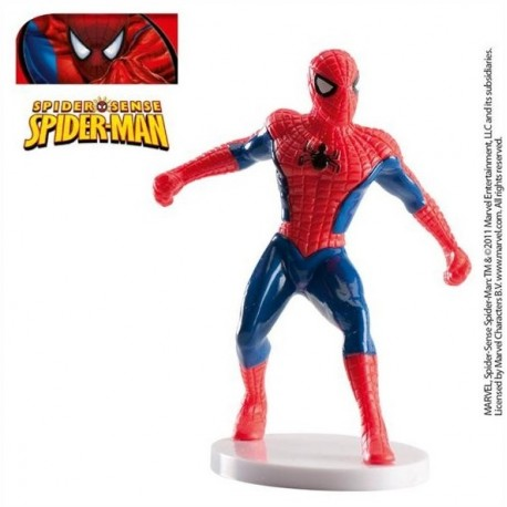 Set Spiderman rojo 7,5cm p.12