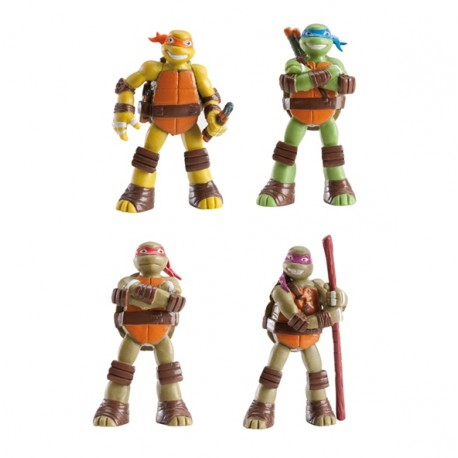 Set Tortugas Ninja 8cm p.12