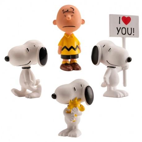 Set Snoopy Pvc 5cm p.5