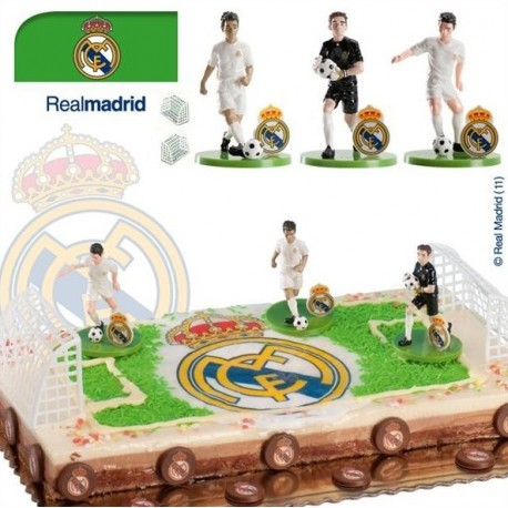 Kit jugadors futbol R. Madrid 7,5cm p.6
