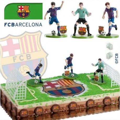 Kit jugadors futbol F.C. Barcelona 7,5cm p.6