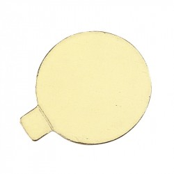 Disc cartró mini 8cm or p.300