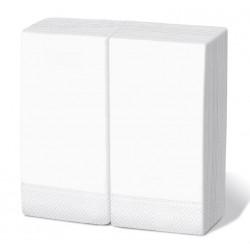 Servilleta 40x40 2c 1/8 blanca c.2400