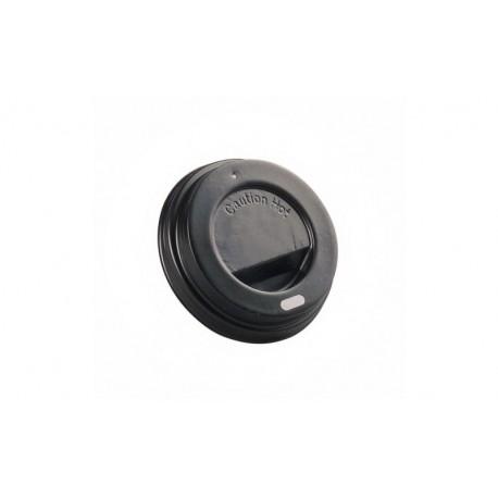Tapa negra vaso doble capa 100cc c.1000